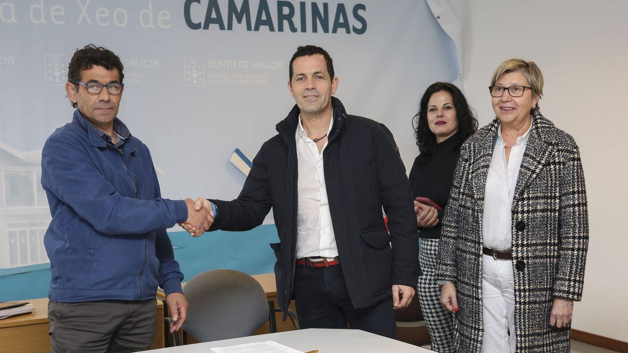 Firma convenio Agade-Camariñas